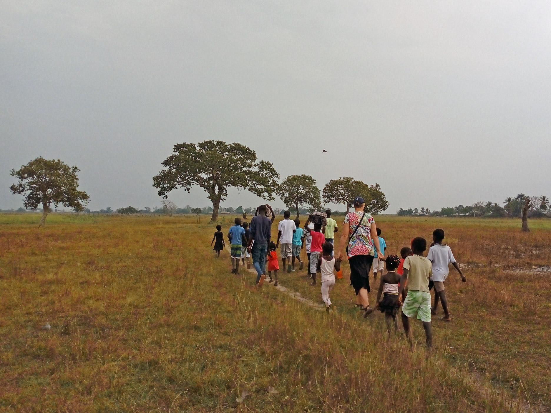 Over Guinee-Bissau