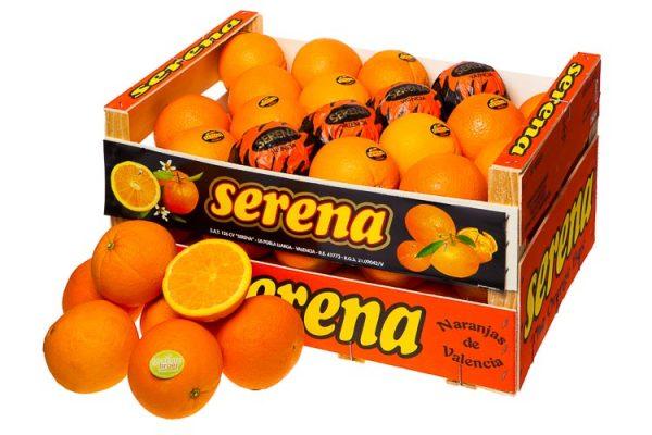 Sinaasappelactie Gerda Klaver - Kist sinaasappels